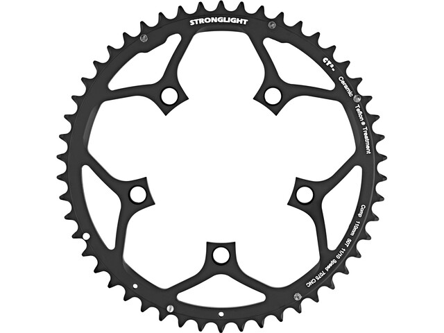 STRONGLIGHT Type 110 S Chainring 5 hole outside 10/11x black